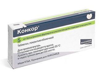 Конкор 5 мг: инструкция по применению, цена, отзывы, аналоги