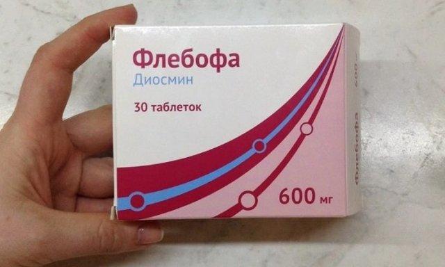 Флебофа: инструкция по применению, цена, отзывы, аналоги таблеток Флебофа