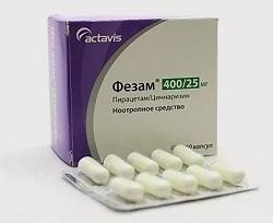 Фезам: инструкция по применению, для чего он нужен, цена, отзывы, аналоги таблеток Фезам