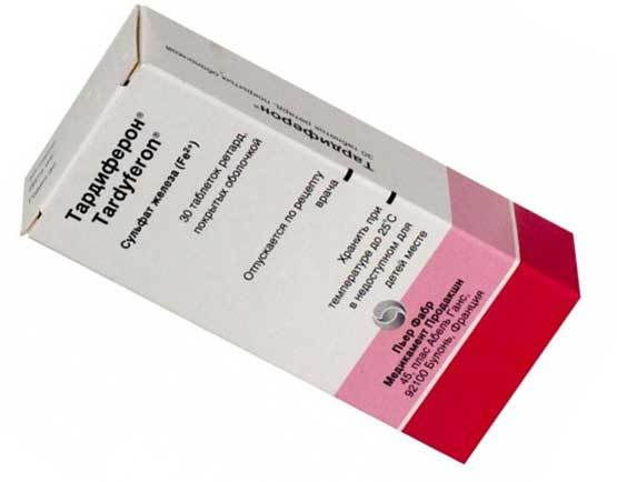 Тардиферон: инструкция по применению, цена, отзывы, аналоги таблеток Тардиферон