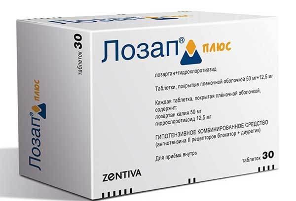 Лозап 50 мг - инструкция по применению, цена, отзывы, аналоги