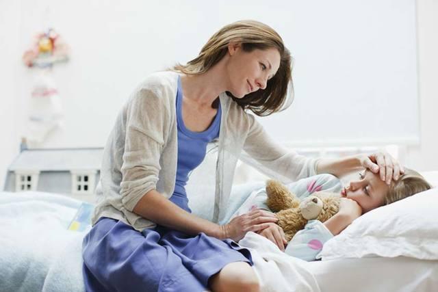 Грипп у детей: симптомы, лечение, профилактика