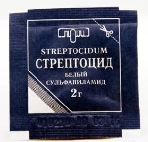 Стрептоцид порошок: инструкция по применению, цена, отзывы