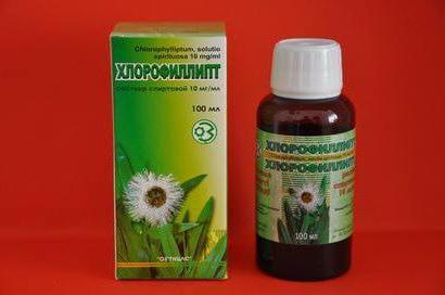Хлорофиллипт спиртовой раствор: инструкция по применению, цена, отзывы, аналоги