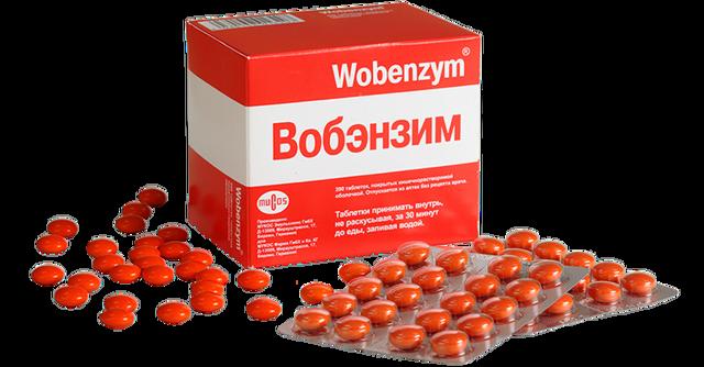 Вобэнзим инструкция по применению, цена, отзывы, аналоги таблеток Вобэнзим