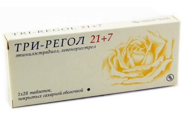 Три-регол: инструкция по применению, цена, отзывы, аналоги противозачаточных таблеток Три-регол