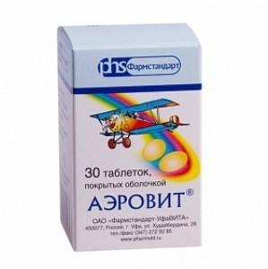 Аэровит: инструкция по применению, цена, отзывы, аналоги витаминов Аэровит