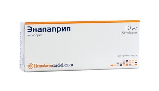Эналаприл: инструкция по применению, при каком давлении, цена, отзывы, аналоги таблеток Эналаприл