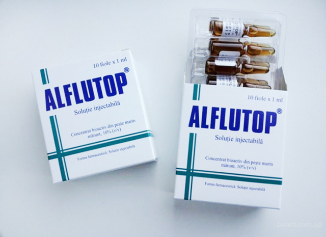 Уколы Алфлутоп: инструкция по применению, цена, отзывы, аналоги