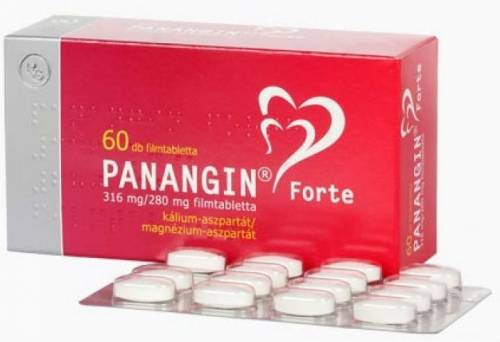 Панангин форте: инструкция по применению, цена, отзывы, аналоги таблеток Панангин форте