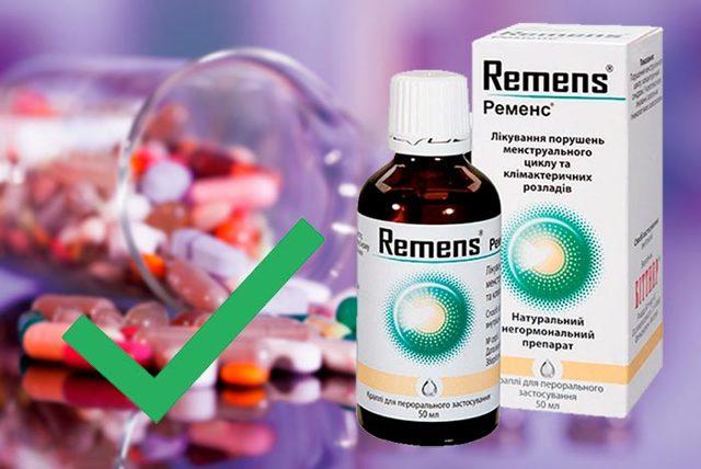 Ременс: инструкция по применению, цена, отзывы, аналоги. Таблетки, капли Ременс при климаксе отзывы женщин