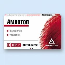 Амлотоп: инструкция по применению, цена, отзывы, аналоги таблеток Амлотоп