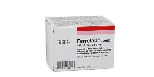 Ферретаб комп: инструкция по применению, цена, отзывы, аналоги таблеток Ферретаб комп