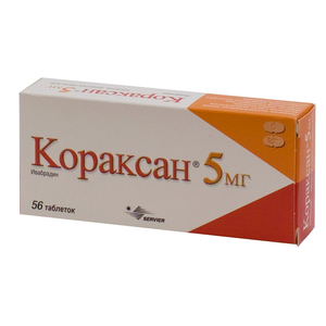Кораксан: инструкция по применению, цена 5 мг, отзывы, аналоги