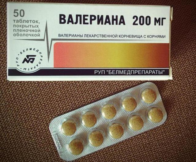Экстракт валерианы в таблетках: инструкция по применению, цена 20мг, отзывы