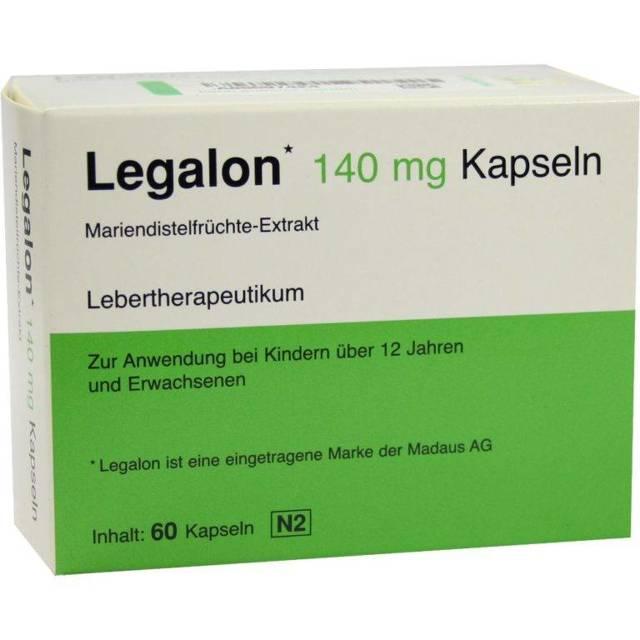 Легалон: инструкция по применению, цена 70 и 140 мг, отзывы, аналоги