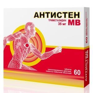 Антистен МВ: инструкция по применению, цена, отзывы, аналоги таблеток Антистен МВ