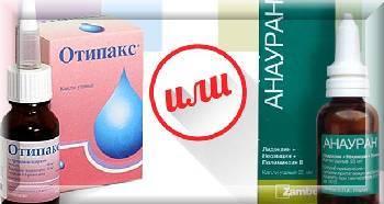 Анауран ушные капли: инструкция по применению, цена, отзывы, аналоги Анаурана