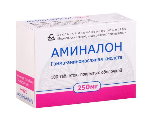 Аминалон: инструкция по применению, цена, отзывы, аналоги Аминалона
