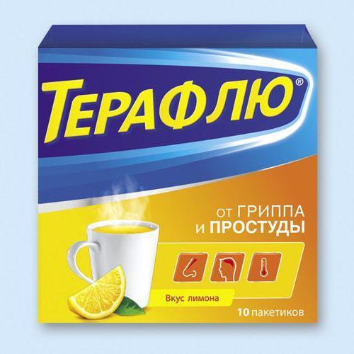 Терафлю: инструкция по применению, состав, цена, отзывы, аналоги порошка и таблеток Терафлю