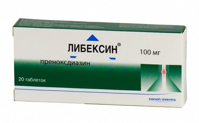 Либексин: инструкция по применению, цена, отзывы, аналоги таблеток Либексин
