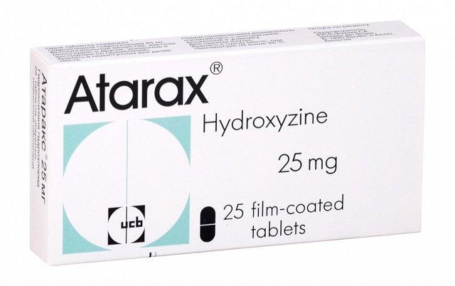 Атаракс: инструкция по применению, цена, отзывы, аналоги таблеток Атаракс