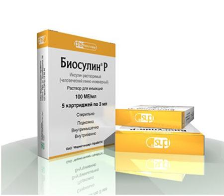 Биосулин Р: инструкция по применению, цена, отзывы, аналоги Биосулина Р