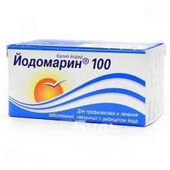 Йодомарин: инструкция по применению, цена 100 и 200 мкг, отзывы, аналоги таблеток Йодомарин