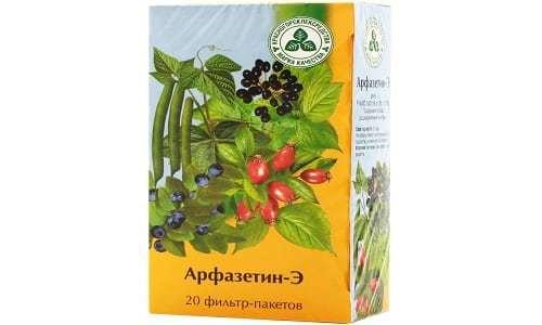 Арфазетин: инструкция по применению, цена, отзывы о травяном сборе Арфазетин