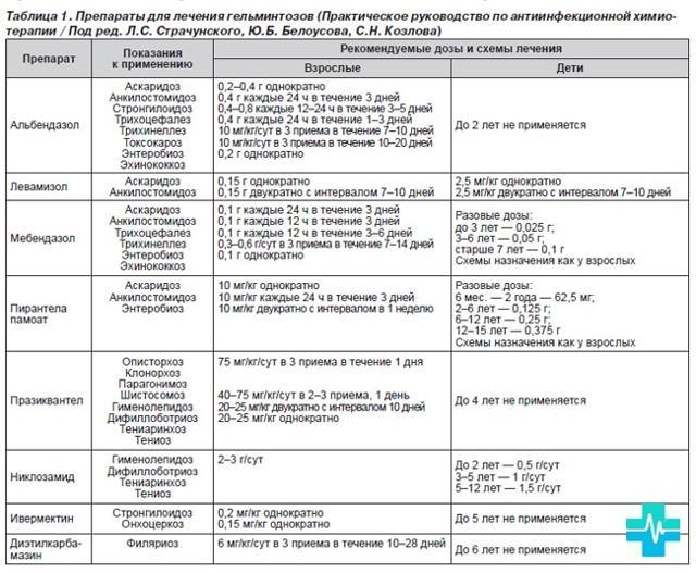 Лямблии у взрослых: симптомы и лечение лямблиоза у взрослых, схема лечения