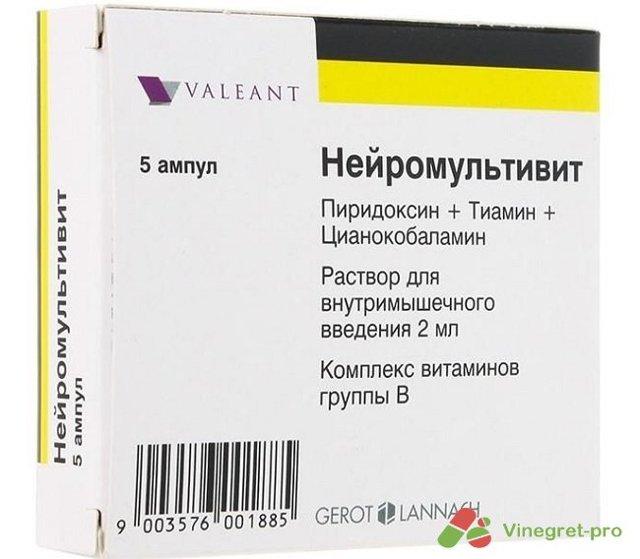 Нейромультивит инструкция по применению состав витаминов показания побочные эффекты
