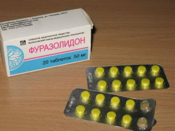 Фуразолидон - инструкция по применению, цена, отзывы, аналоги таблеток Фуразолидон