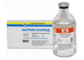 Натрия хлорид раствор: инструкция по применению. Для чего назначают и ставят капельницу Натрия хлорид