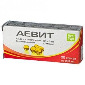 Аевит для женщин: инструкция по применению, отзывы, для чего принимают витамины Аевит