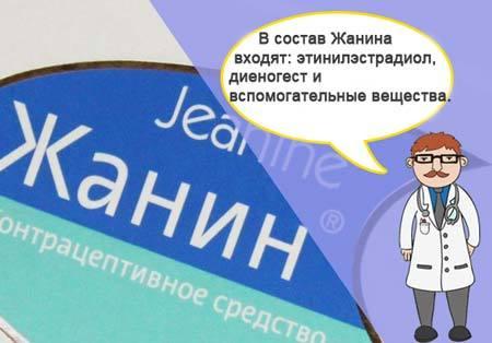 Жанин: инструкция по применению, цена, отзывы, аналоги. Таблетки Жанин при эндометриозе отзывы врачей, плюсы и минусы