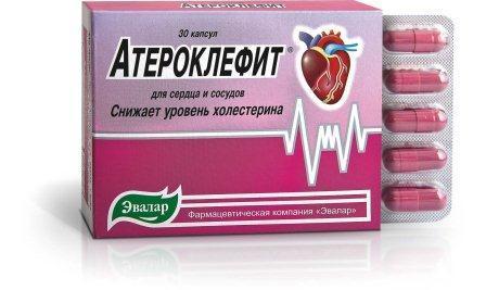 Атероклефит: инструкция по применению, цена, отзывы врачей, аналоги Атероклефита