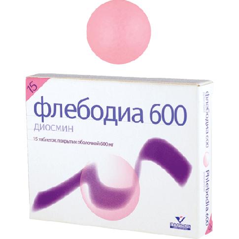 Флебодиа 600: инструкция по применению, цена, отзывы, аналоги