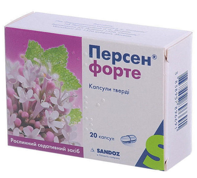 Персен: инструкция по применению, цена, отзывы, аналоги таблеток Персен
