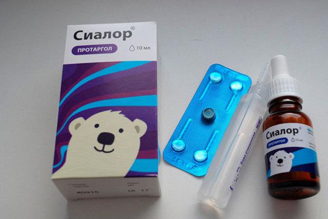 Сиалор (Протаргол): инструкция по применению, цена, отзывы, аналоги каплей в нос для детей Протаргол