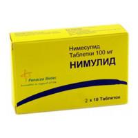 Нимулид: инструкция по применению, цена, отзывы, аналоги таблеток Нимулид